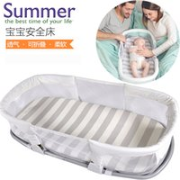 baby crib tent - Portable Baby Crib M Infant Bed Tent Baby Bed Cotton Sleepping Basket Folding Baby Crib Bercos De Bebes Cunas
