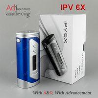 Wholesale Original Authentic Pioneer4you IPV X IPV6 IPV6 X TC Box Mod VS IPV400 hcigar vt75 nano therion triade finder75