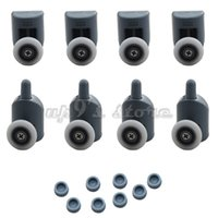 Wholesale Set of Single Shower Door Rollers Runners Wheels Pulleys Top or Bottom mm mm wheel
