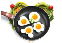 Wholesale Stainless Steel Fried Egg Mold Pancake Mold cooking tools Kitchen Tools Pancake Rings Cooking Egg Mold styling tools