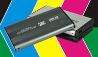 aluminum enclosure - 2 HDD SATA Hard Drive Disk external Case Enclosure support USB3 max tb for laptop PC computer Laptop MACBOOK PRO MOQ