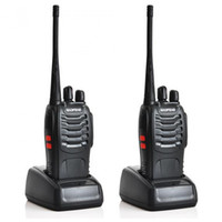 Wholesale HOT SELLING Baofeng UV S MHz MHz Dual Band Two Way Radio with mAh Large Capacity Battery color Black
