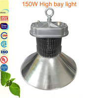 Wholesale 150w led bay light floodlight fitting idustrial warehouse workshop lamp sport stadium court lighting Meanwell driver Glass lens