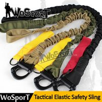 Wholesale Tactical Protective Sling Webbing Safety Nylon Line Climbing Rope Outdoor Gear One Point Quick Release Sling