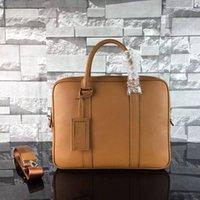 Nouveau arrivé 100% cuir BRIEFCASE sacs à main d'homme d'affaires de concepteur célèbres pour le mâle 641