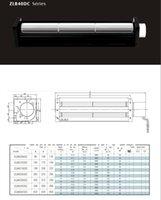 Wholesale B40250 B40420DC cross flow fan crossflowfan draught fan cross flow fan