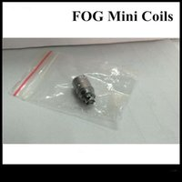 bags ect - Authentic ECT Fog Mini Coils Use With eT Kit Mini Fog Coils Plastic Bag Packing Free DHL