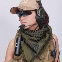 arab head covering - Army Military Tactical Keffiyeh Shemagh Arab Scarf Shawl Neck Cover Head Wrap