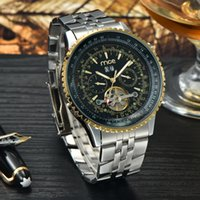 auto glass direct - Factory Direct MCE Watch Style Luxury Mechanical Watch Mens Tourbillon Wristwatch MCE