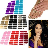 Wholesale New Sticker Foil Nail Art Sticker Decal Gel Nail Patch Manicure Set Wraps Minx Colors