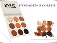Wholesale Kylie Jenner Kyshadow Eyeshadow Palette Bronze Preorder Natural Brighten Makeup make up Colors Eye shadows Palette