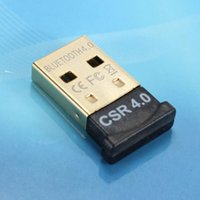 Wholesale USB Bluetooth Adapter V4 Dual Mode Wireless Dongle Free Driver Mbps for Windows XP Vista