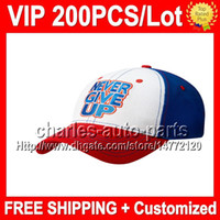 Wholesale VP Price NEW Blue white Baseball Hat Baseball Cap Top Quality VP598 NEW Blue red Baseball Caps Baseball Hats Factory onlie store