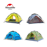 Wholesale Original NatureHike Persons Automatic Rainproof Outddor Tent Camping Quick Open Tent Family Outing Tent