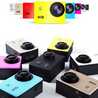 Wholesale 2016 New Gopro Waterproof Sports Cam SJ6000 Style W9 HD Action Camera Diving Wifi P M
