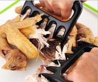 Wholesale Grizzly Bear Paws Claws Meat Handler Fork Tongs Pull Shred Pork BBQ Barbecue Tools High Quality Food grade BBQ Outdoor Cooking Eating Tool