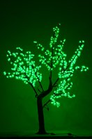 artifical garden - LED Christmas cherry blossom artifical tree light outdoor lighting garden wedding party decor ft L