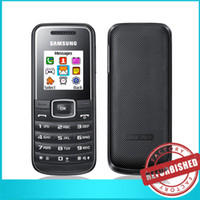 cell phone time - 10x SAMSUNG GT E1050 Network GSM Mini SIM Card inch Screen Flashlight Classic Long Lasting Standby Time Travel Cell Phones