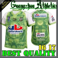 auckland rugby - 2016 New NRL Canberra Raiders Rugby Jersey ISC Auckland s New Rugby shirts Nines green Jerseys A quality