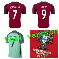 Wholesale Top Portugal MAN Jerseys AWAY HOME shirts ronaldo nani