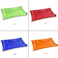 Wholesale 2016 Hot Selling Popular Outdoor Sport Travel Hiking Garden Portable Automatic Inflatable Air Cushion Pillow Colors