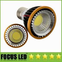 Wholesale Dimmable par20 LED E27 E16 GU10 Bulbs Light cob chips W Led Lights Lamps AC V CE UL CUL FCC