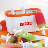 Wholesale Zoku Quick Pop Maker Authentic Home made ice Cream Tools ZOKU Slush Shake Maker ice creammaker creative cup