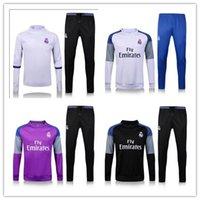 Wholesale 2016 Real Madrid training suit Real Madrid RONALDO BENZEMA JAMES BALE shorts
