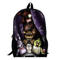 Wholesale uggage Bags Backpacks Inch Five Nights At Freddy Backpack Customized Mochila Feminina Children Travel Bag School Bag Tee