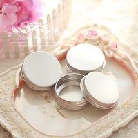 Wholesale oz aluminum jars g aluminum cream jars ml aluminum tin container