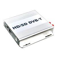 auto tv receiver - High Speed HD Car DVB T MPEG Mobile Cars Digital TV Turner Receiver digital Auto TV Box DVT T Car TV Box