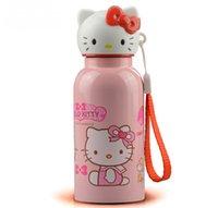 best thermal bottle - Best For Girl Kawaii Hello Kitty Stainless Steel Hours Heat P reservation ML Garrafa Termica Bottle Thermal