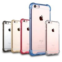 airs phone case - Soft Air Cushion Acrylic TPU Phone Case For Iphone7 Hybrid Bumper Drop Resistance Shockproof Protective Back Cover For Iphone7 Plus