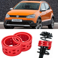 Wholesale 2pcs Super Power Rear Car Auto Shock Absorber Spring Bumper Power Cushion Buffer Special For Volkswagen Cross Polo