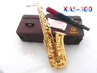 bakelite buttons - Big promotion Mp3 xas saxe Imported leather pad Natural pearl button Electrophoretic gold E Alto Saxophone professional