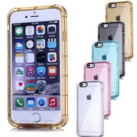 anti pink - Hahacase Brand Original Shockproof Flexible Slim Armor Clear Soft TPU Anti Knock Case Cover Skin for iPhone S Plus inch inch