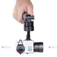 Al por mayor-PRO sin cepillo de la manija de mano Steadycam 3 ejes cardán cámara estabilizador del montaje para GoPro Hero 3 3+ ST-316