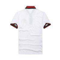 Wholesale 2016 HOT SALE NEW Men s pique cotton short sleeved t shirt embroidered polo shirt lapel summer M