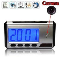 Wholesale Spy Portable Alarm Clock Spy Camera DVR with Motion Detection Tf Card Not Included
