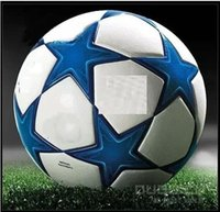 Wholesale European champion league football ball Soccer ball PU size balls top quality with real brand logo