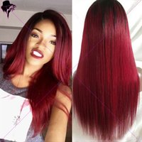 Wholesale 7A Ombre Glueless Full Lace Human Hair Wigs T1b j Lace Front Wig Brazilian Hair U Part Wigs For Black Women