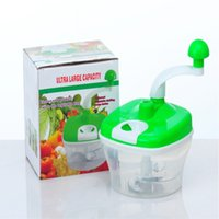 baby food mixer - Kitchen multifunctional hand operated adjustable cutter for fruits food mixer baby food supplement Vegetable Fruit three drive machine