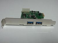 Wholesale NEC chip computer motherboard adapter card PCI E to USB two adapter card