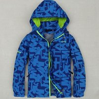Wholesale Children Outerwear Coat Sporty Kids Clothes Double deck Waterproof Windproof Boys Jackets For Y Colors Spring and Autumn