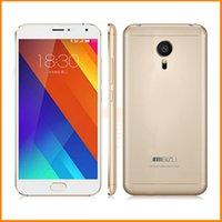 Bon choix Original Meizu MX5 MX 5 FDD LTE 4G Téléphone Mobile MT6795 Octa Core 2,2 GHz Caméra 20,7 MP 3 Go RAM 32 Go ROM Dual Sim en stock