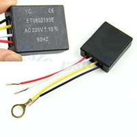 Wholesale Consumer Electronics Shop shipping Table light Parts On off Way Touch Control Sensor Bulb Lamp Switch