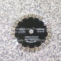 Wholesale Diamond Saw Blade for Granite inch mm Cutting Disc Inner Hole mm China Stone Tools Leiwo Diamond Works Direct