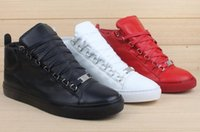 arena free - mens Paris style arena trainer shoes High help sneakers Fashion catwalk shoes free gift