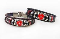 Hot Star Charm Bangles Hommes En Cuir Bracelet Bracelet Charm Pour le frère Multilayer Infinity Alliage Beads Large Bracelets en cuir Bijoux
