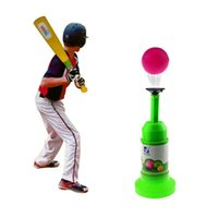automatic toy train - ePacket Semi Automatic Launcher Kids Baseball Toy Training Set
